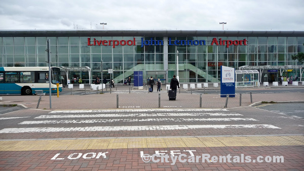 john lennon airport liverpool car hire compare prices hertz avis europcar. Black Bedroom Furniture Sets. Home Design Ideas
