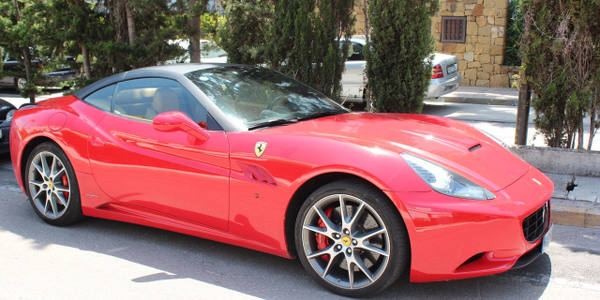 Marbella Car Hire Ferrari