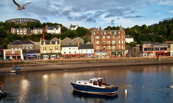 Scotland Harbour Scene