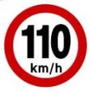 110 KM/H highways