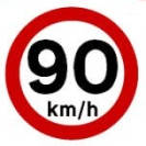 90 KM/H highways