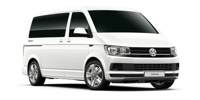 VW Transporter 9 Seater Car Hire