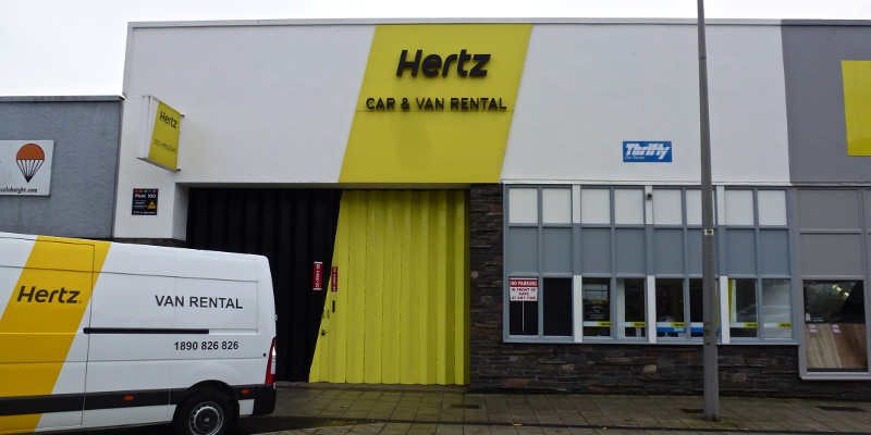 Cork City Hertz Office