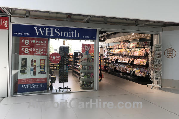 Murcia Airport WH Smiths