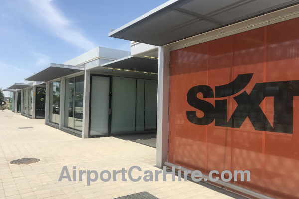 Sixt Desk at Murcia Airport