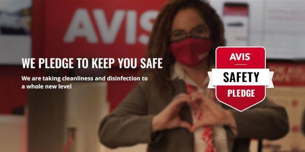 Avis Safety Pledge