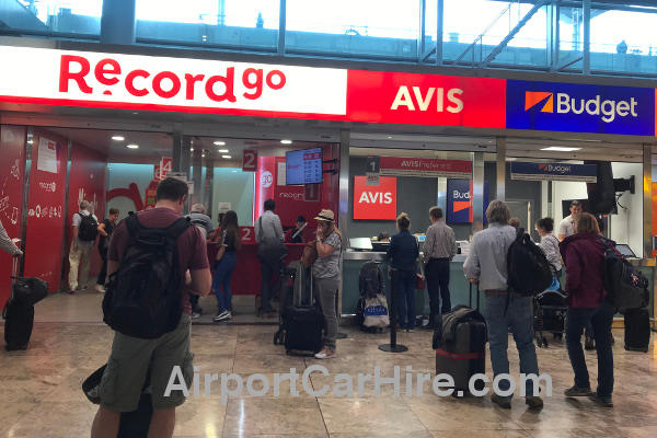 Car Hire In Alicante Airport Terminal Drivers 19 To 99 Years
