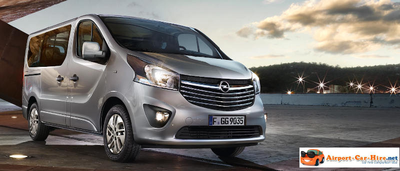 Topnotch 9 Seater Rental Opel Vivaro 9 Seater Minibus Hire, Best Prices. RH61