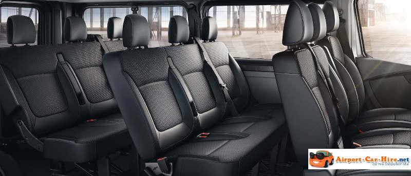 9 Seater Car >> 9 Seater Rental Opel Vivaro 9 Seater Minibus Hire Best Prices