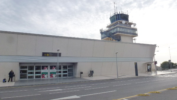 Almeria airport control tower