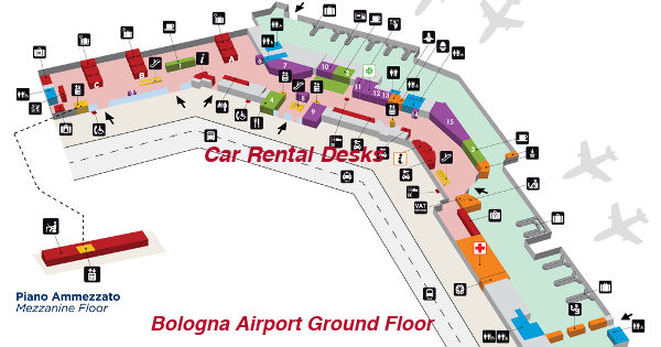 Bologna Airport Car Hire Blq Airport Car Hire Network