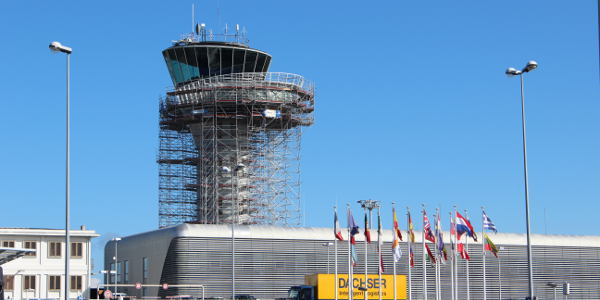 Bordeaux Airport Control Tower