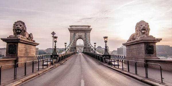 Chain Bridge Hungary