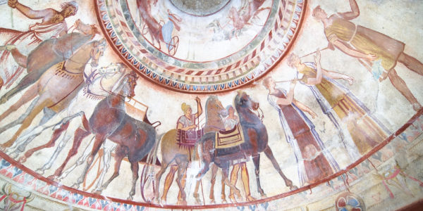 Thracian tomb in Shvetari