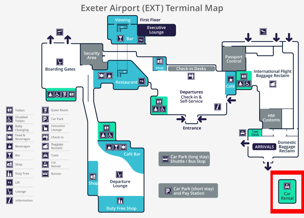 Car Hire Comparison Exeter Airport Car Hire England Cheap Car Rentals