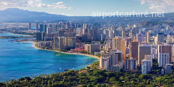 Honolulu Airport Car Hire Hawaii Cheap Car Rentals Hawaii Usa