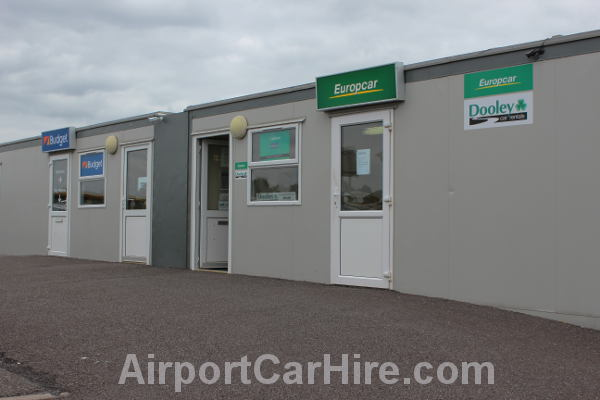 Car Hire Desk at Kerry