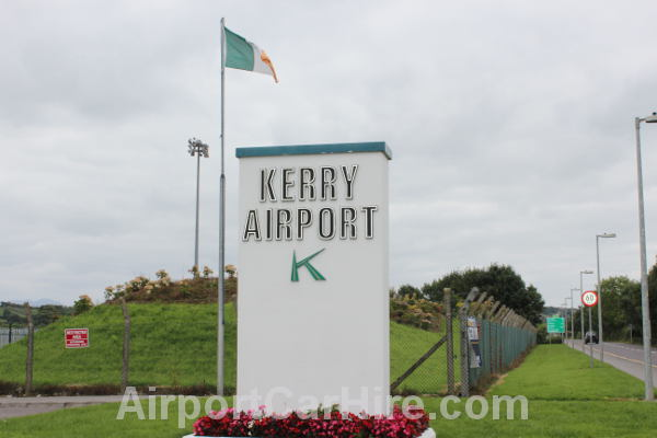 Kerry Airport Entrance Sign