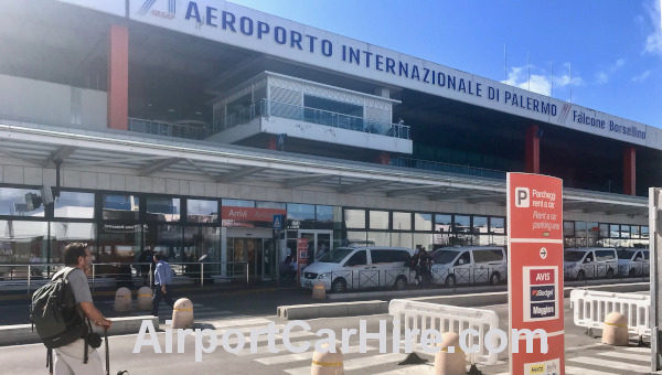 Palermo Airport Terminal Building Sicily