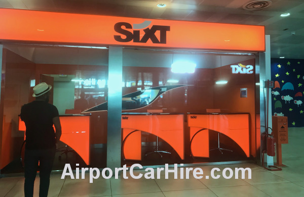 Sixt Car Hire Desk Palermo Airport Sicily