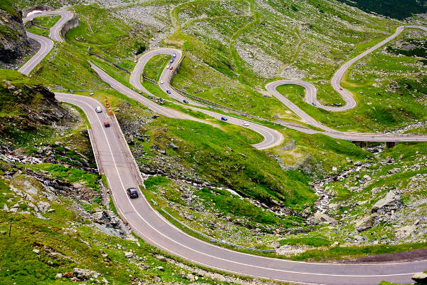 The Transfagarasan Romania