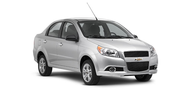 Chevrolet Aveo Car Rental